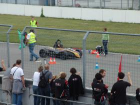 FR 7 beim Acceleration in der Boxengasse am Hockenheimring